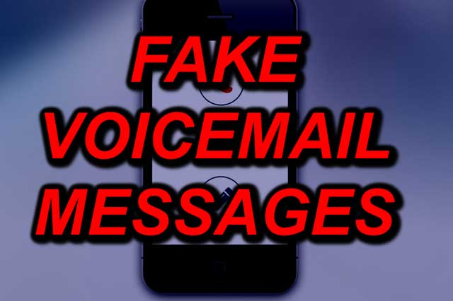 Beware Fake Voicemail Message Emails